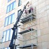 "Bürogebäude ""Oasis"" Stuttgart, Austausch von beschädigten Fassadenplatten"